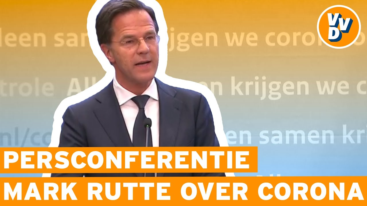 Persconferentie Mark Rutte Over Coronamaatregelen 21 April
