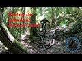Riding the infamous Kataore (Cutties) trail at Rotorua.