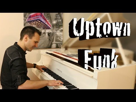 Uptown Funk (Bruno Mars) - Crazy Funk/Boogie/Ragtime Piano Cover by Jonny May