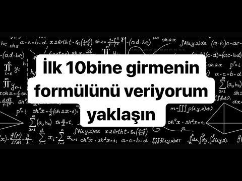 SINAVLARDA İLK 10.BİNE GİRMEK GARANTİ