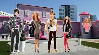 Barbie finger family