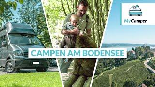 Camping Bodensee: Die schönsten Campingplätze 🚌 🇨🇭🇩🇪 🇦🇹