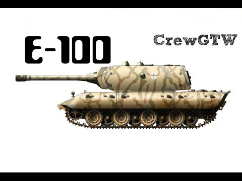 E-100 в Ground War Tanks