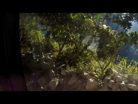 Bus Ride Down Machu Picchu