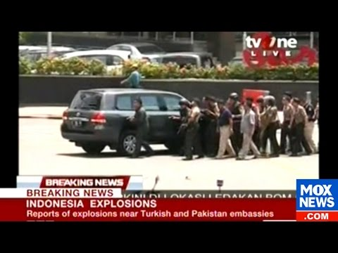 At Least 4 Killed Including A Police Office In Jakarta Attacks