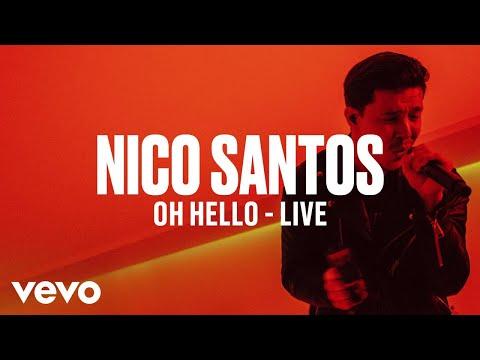 Nico Santos - Oh Hello (Live) | Vevo DSCVR