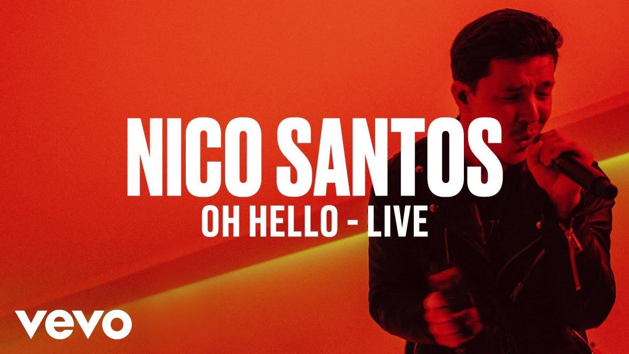 Nico Santos — Oh Hello (Live) | Vevo DSCVR