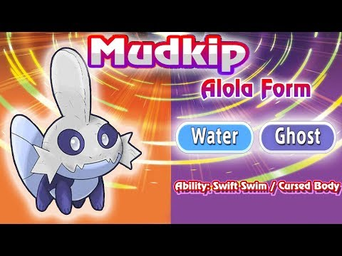 Mudkip, Torchic, and Treecko  Receive Alolan Forms In Ultra Sun and Ultra Moon! | Gen 7 FM