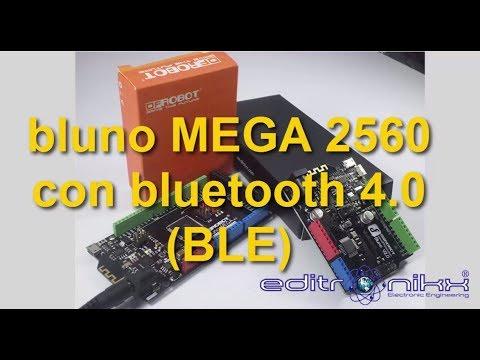 BLUNO mega y uno con bluetooth 4 BLE (arduino mega actualizado| Dfrobot)