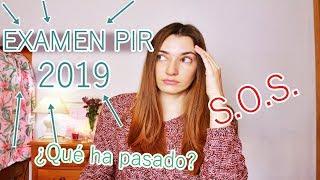 EXAMEN PIR 2019 | QUÉ HA PASADO | LAMENTABLE | OPOSICIONES PSICÓLOGOS