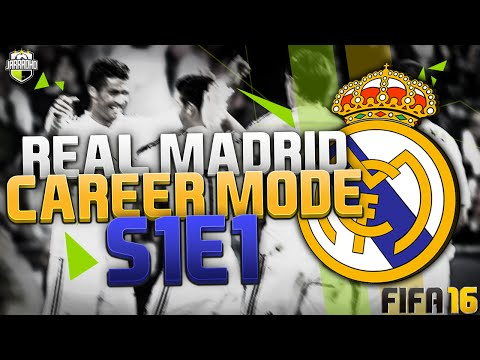 FIFA 16: Real Madrid Career Mode - S1 E1 -