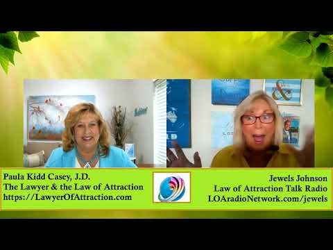 The Lawyer and the Law of Attraction - Paula Kidd Casey
