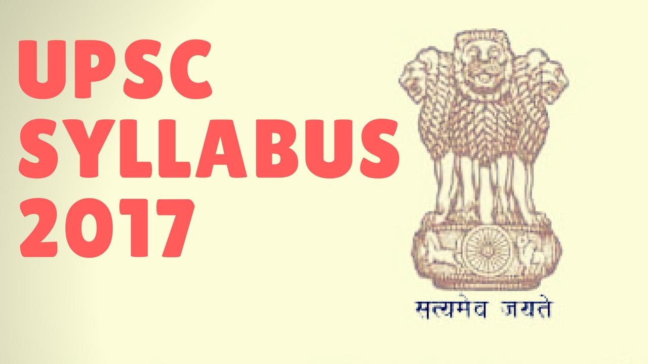 Upsc - Upsc Syllabus 2017 Upsc Preparation For Prelims And Mains Upsc Lectures Edugrow