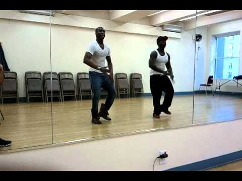 Victor Sho in Creative Step Dance Rehearsal w/ Ed Nelson (Ceo. of PLAYERS Step Dance Co.)