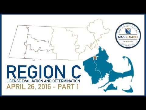 MGC Meeting 4.26.16 Part 1: Region C License Evaluation and Determination
