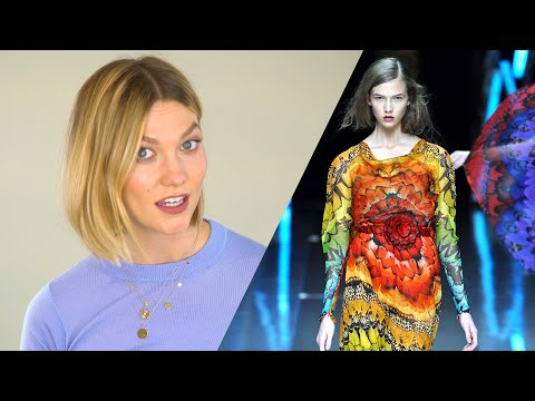The Time I Walked in Alexander McQueen With My Dress on Backwards | Fashion Stories | Karlie Kloss