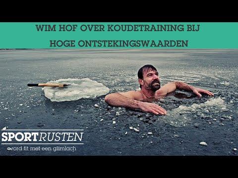 Wim Hof Over Koudetraining Bij Hoge Ontstekingswaarden Youtube