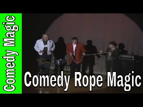 Comedy Magic Rope With Hilarious Volunteers