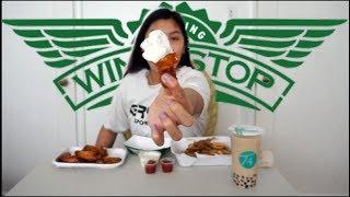 WINGSTOP MUKBANG (EATING-SHOW) #2   Q+A