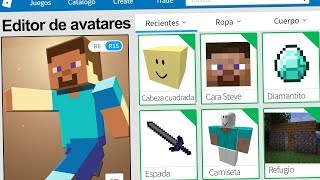 created the profile of MINECRAFT in ROBLOX! | Rovi23 Roblox