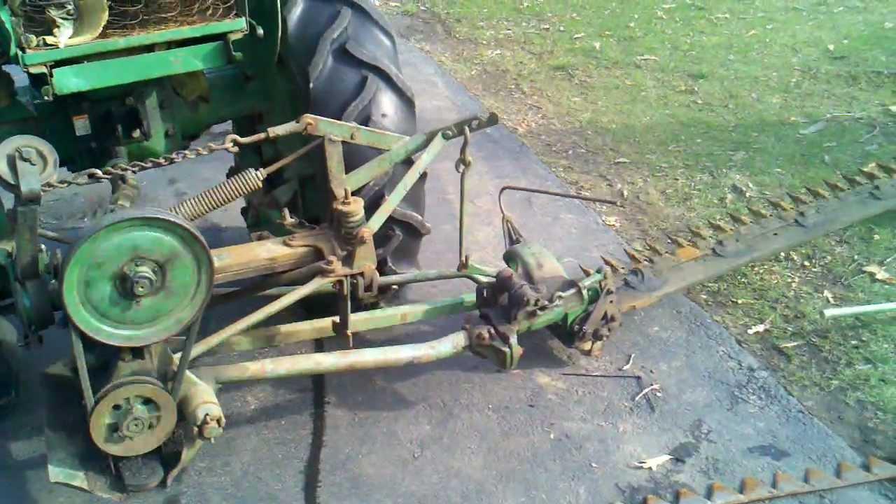John Deere M51 rear mount sickle bar mower