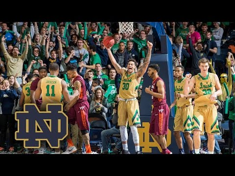 Notre Dame Basketball Top 5 Moments Of The 2015-16 Season