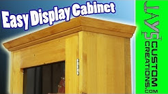 Make An Easy Display Cabinet -  117