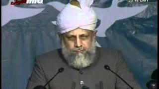 (Urdu) Jalsa Salana Australia 2006 - Concluding Speech by Hadhrat Mirza Masroor Ahmad