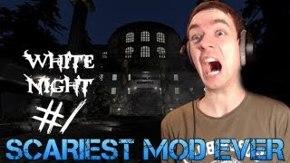 Amnesia: White Night - SCARIEST MOD EVER - Total Conversion mod Gameplay/Commentary