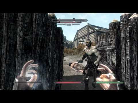 The Elder Scrolls V: Skyrim - Walkthrough Part 19 - Halted Stream Camp [Skyrim Gameplay]