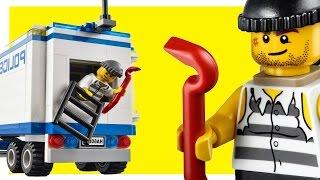 Мультик Лего Полиция Побег Преступников из Полицейского Фургона Щенячий Патруль 3 серия