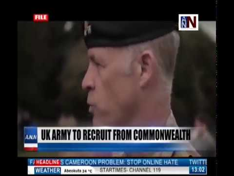 ANN News Brief 1PM | UK Army To Recruit From Commonwealth Countries | November 5, 2018