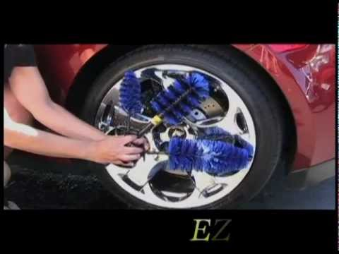 EZ Detail Brushes on Cars & Trucks