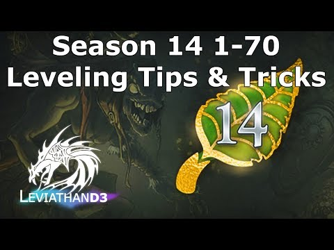 [Diablo 3] Season 14 1-70 Leveling Tips Guide