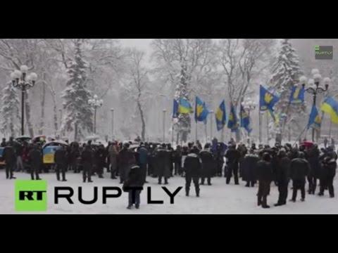 LIVE: Merkel and Hollande meet Poroshenko in Kiev