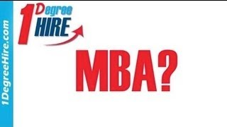 Inside Tips To Getting Hired - Considering Your MBA? Thumbnail