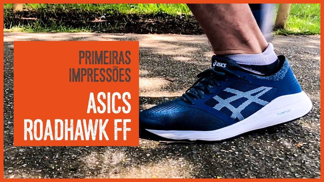 00d6cf2565 Asics Roadhawk FF - Primeira Impressões - YouTube