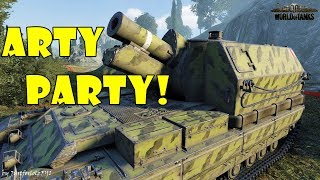 World of Tanks - Funny Moments | ARTY PARTY! #30