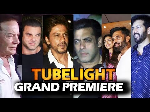 Tubelight Grand Premiere | FULL VIDEO | Salman, Shahrukh, Sohail, Kabir Khan, Sunil Shetty thumbnail