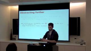 NYLUG Presents: Paul Chiusano on An introduction to Scala and functional programming (May 9, 2013)