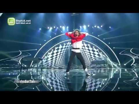 Arabs Got Talent- عرض النصف نهائيات – Sarah Vagabond