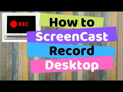 How to Record your Desktop and Create a ScreenCast for Free [हिन्दी]