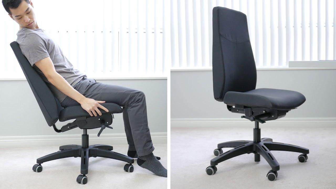 IKEA Volmar Office Chair   Like A Rock, An Expensive But Comfortable Rock    YouTube