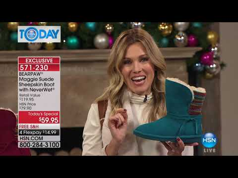 HSN | HSN Today: BEARPAW Footwear 10.23.2017 - 08 AM