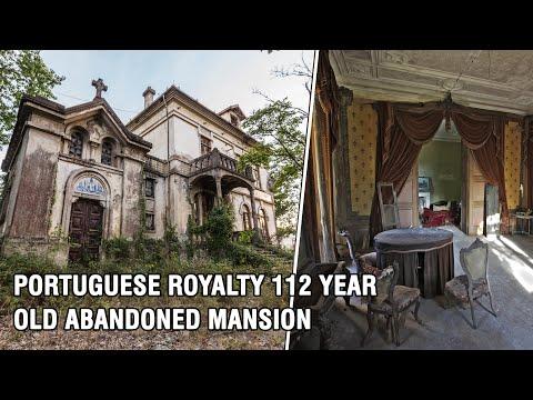 Abandoned Viscountess Royal Mansion | History Of the Sousa Soares Family | Portugal