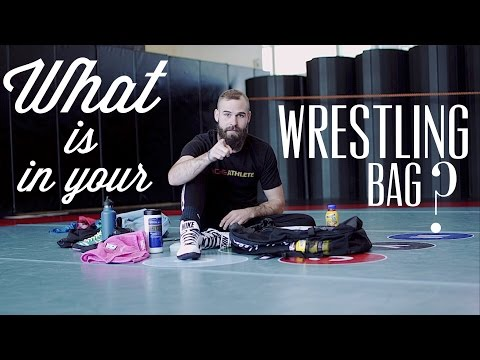 What's in your wrestling bag? What new Wrestlers need