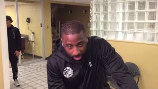 Thunder - Raymond Felton provides Thanksgiving assists through Big Brothers Big Sisters