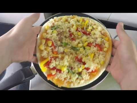 EASY & QUICK  – Home Made PIZZA Recipe in HINDI.