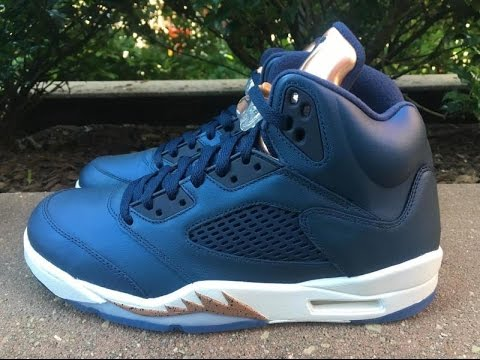 buy online a5781 93699 Air Jordan 5 Bronze • KicksOnFire.com