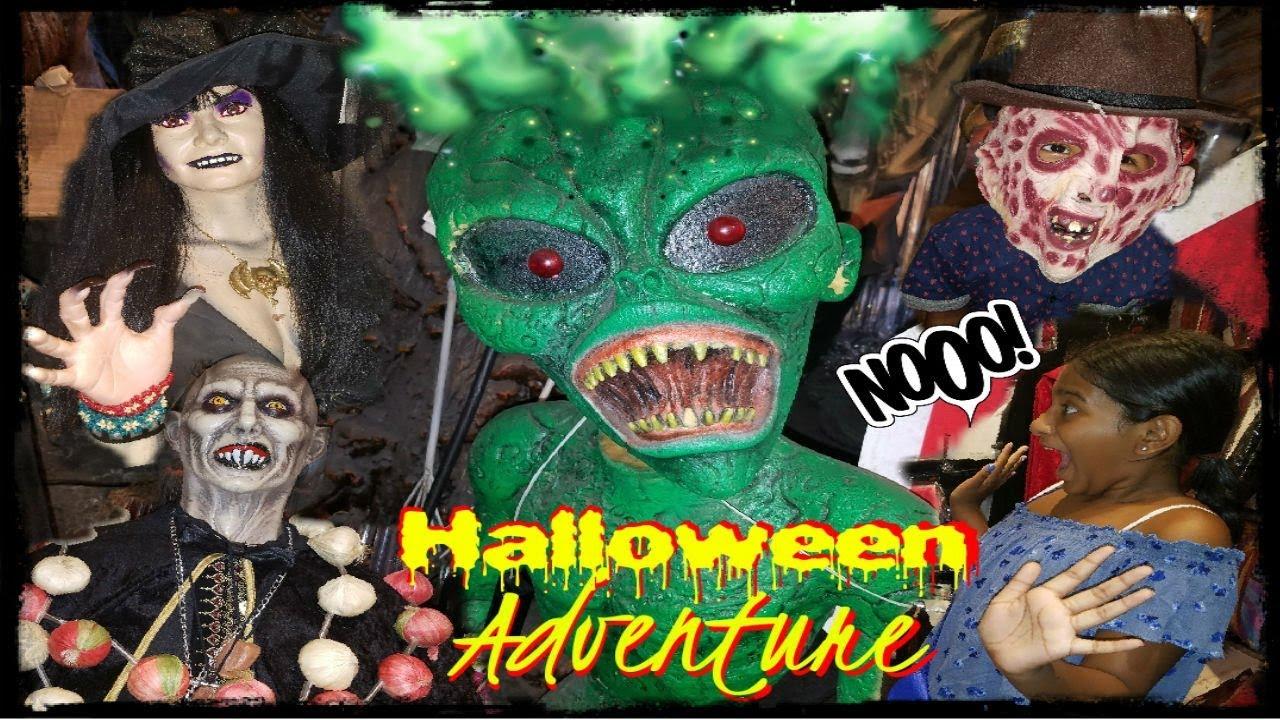 Halloween Adventure Store NYC - YouTube